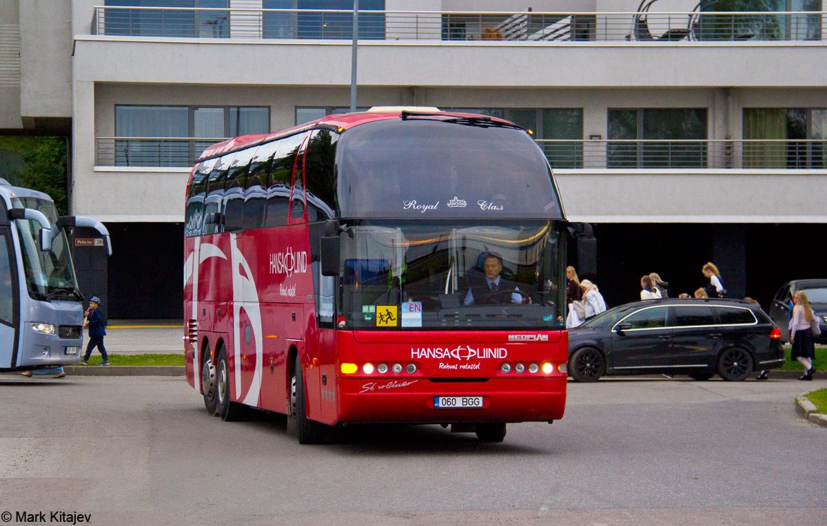 Viljandi, Neoplan N516/3SHDH Starliner № 060 BGG Tallinn — XII noorte laulu- ja tantsupidu (Mina jään)