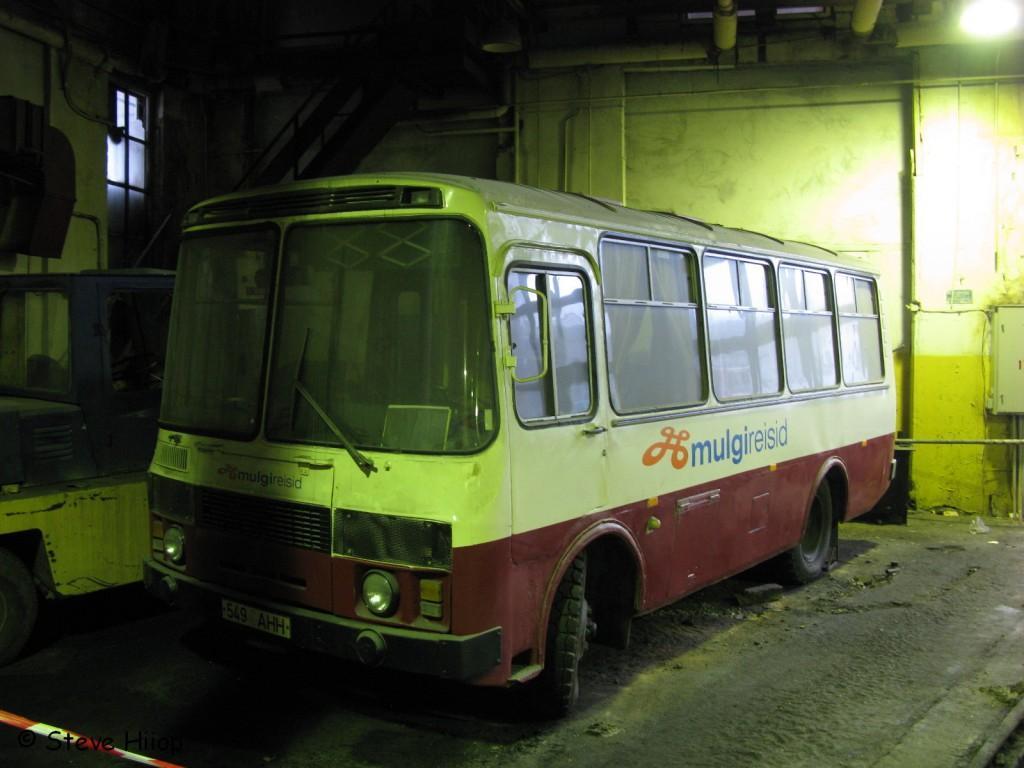 Viljandi, ПАЗ-3205 № 1587