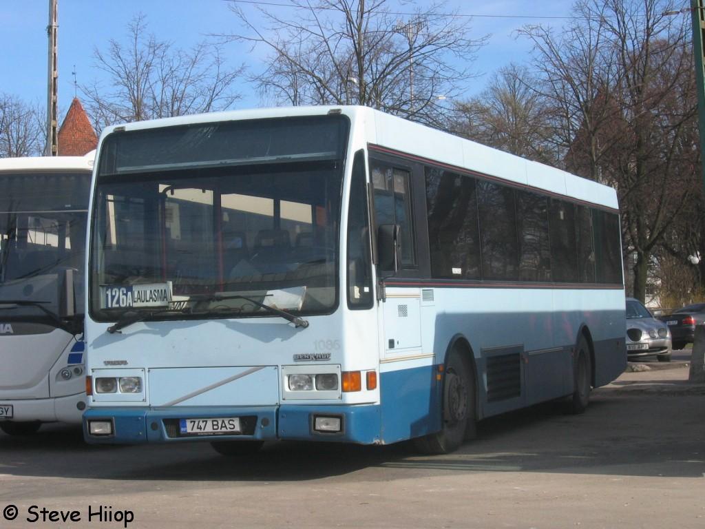 Tallinn, Berkhof Europa 2000NL № 747 BAS
