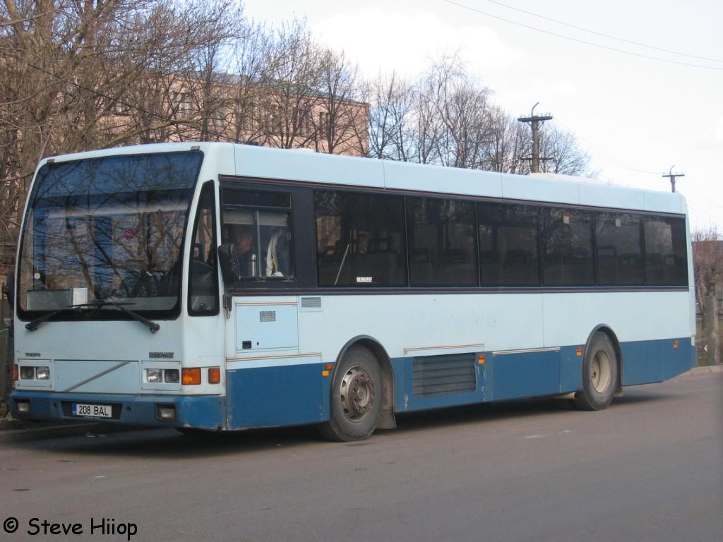 Tallinn, Berkhof Europa 2000NL № 208 BAL