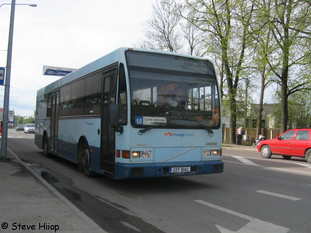 Viljandi, Berkhof Europa 2000NL № 227 BAL