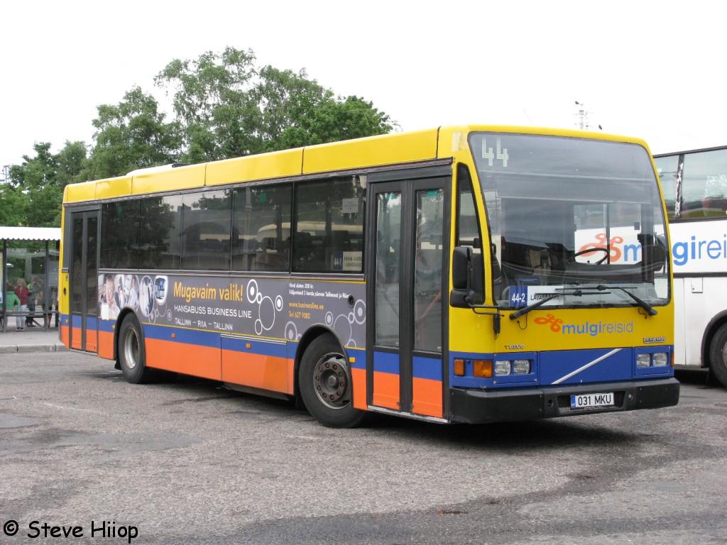 Pärnu, Berkhof Europa 2000NL № 031 MKU