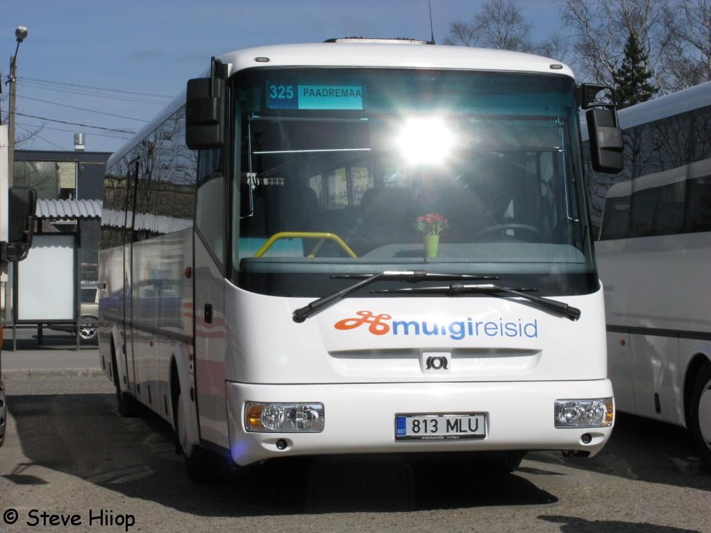 Pärnu, SOR C 10.5 № 813 MLU