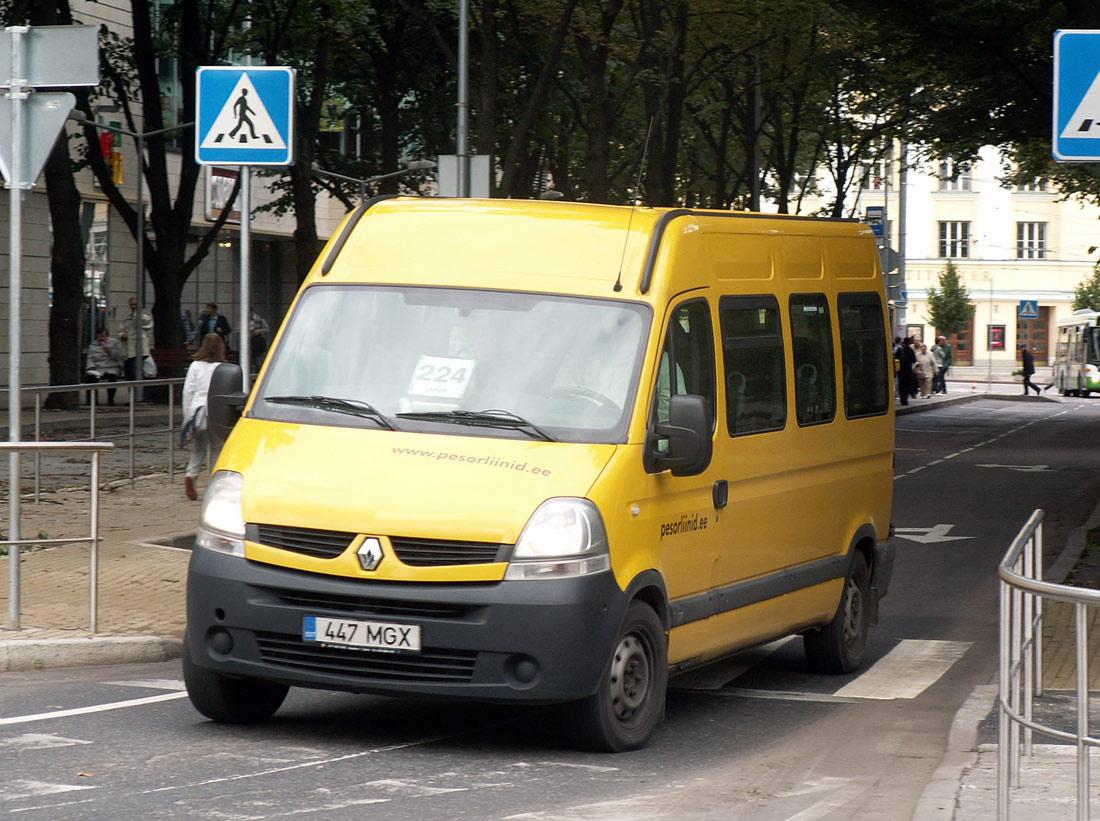 Tallinn, Renault Master T35 № 447 MGX