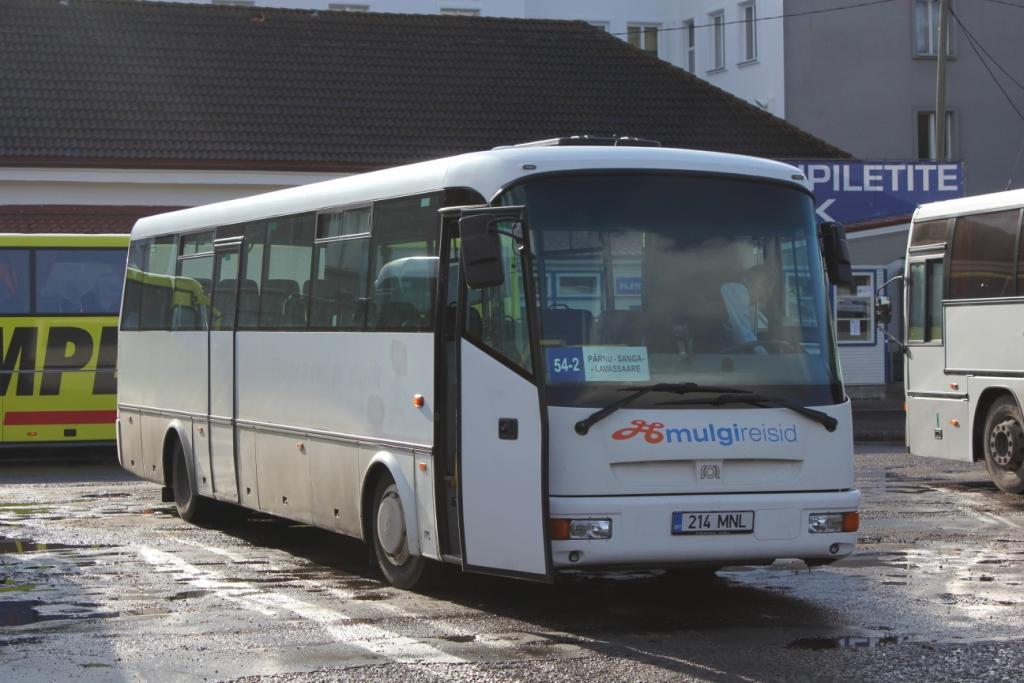 Pärnu, SOR C 10.5 № 214 MNL