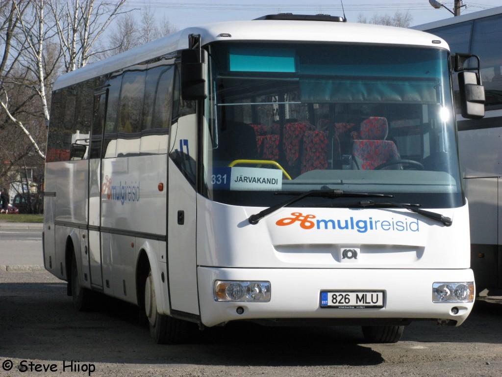 Pärnu, SOR C 9.5 № 826 MLU