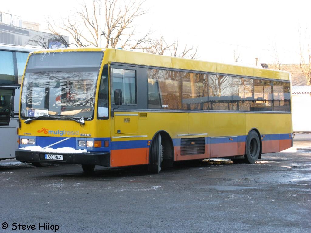 Pärnu, Berkhof Europa 2000NL № 566 MLZ
