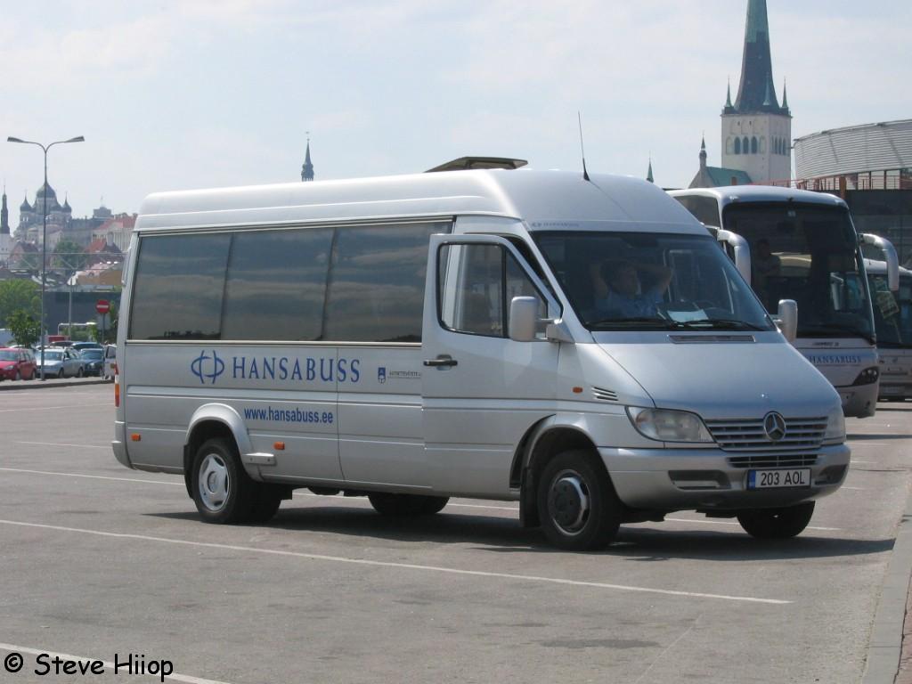 Tallinn, Mercedes-Benz Sprinter 413CDI № 203 AOL