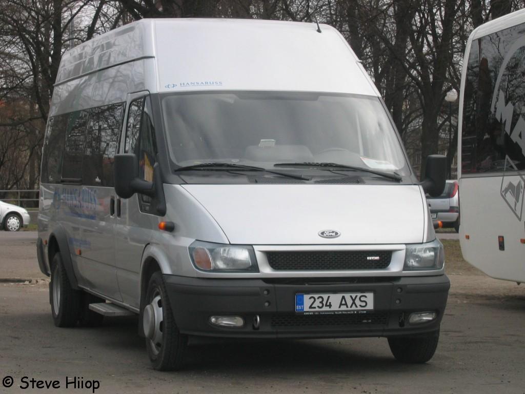 Tallinn, Ford Transit 430L EF Bus № 234 AXS