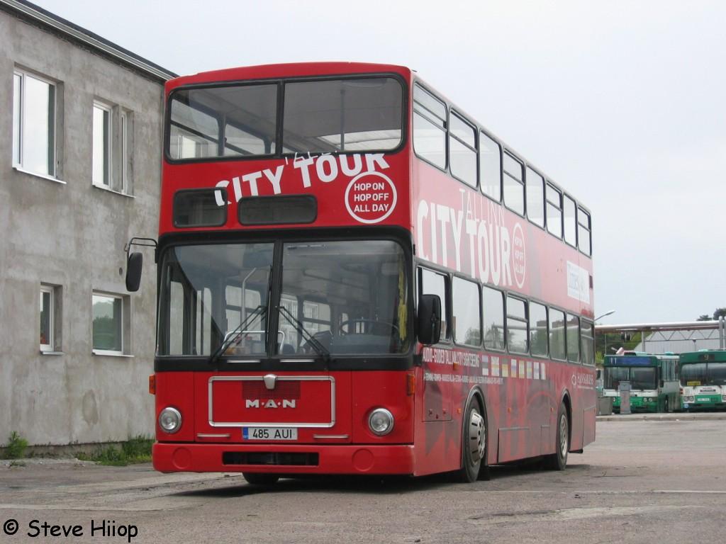Tallinn, MAN SD200 № 485 AUI