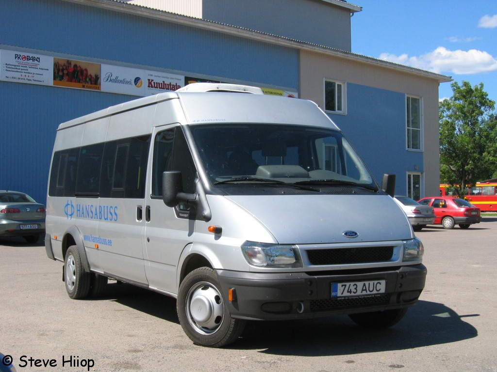 Tallinn, Ford Transit 430L EF Bus № 743 AUC
