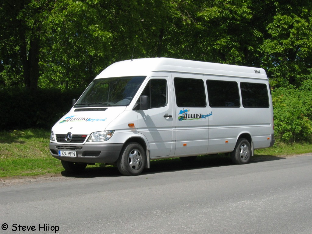 Põlva, Mercedes-Benz Sprinter 313CDI № 324 MFN