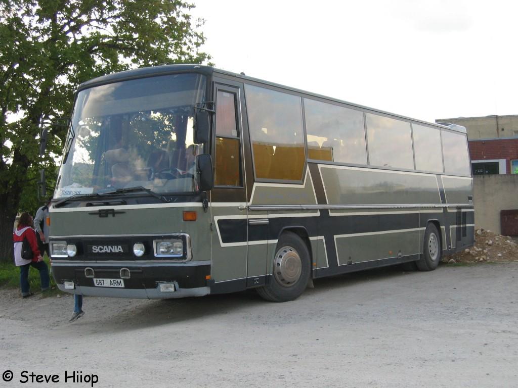 Rapla, Ernst Auwärter Eurostar HD № 687 ARM