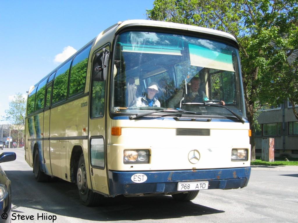 Rapla, Mercedes-Benz O303 № 768 ATD