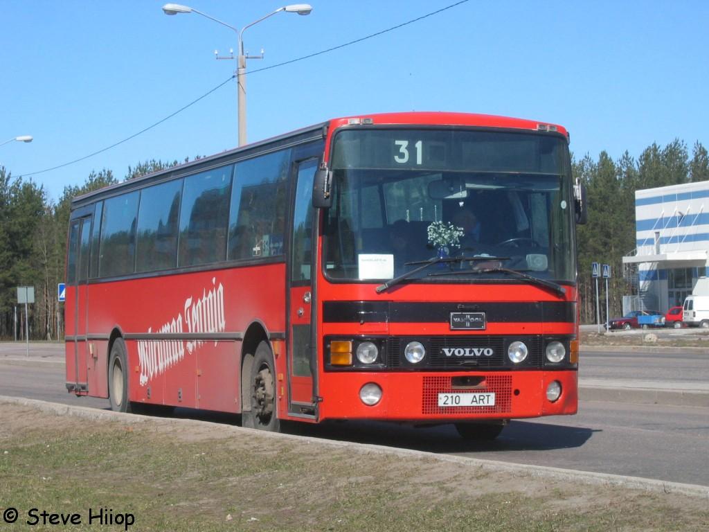 Narva, Van Hool T8 Alizée 310 № 210 ART