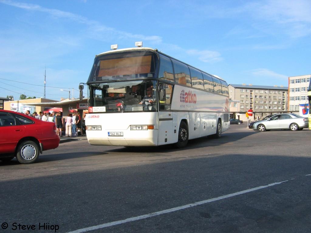 Paide, Neoplan N116 Cityliner № 542 ALZ