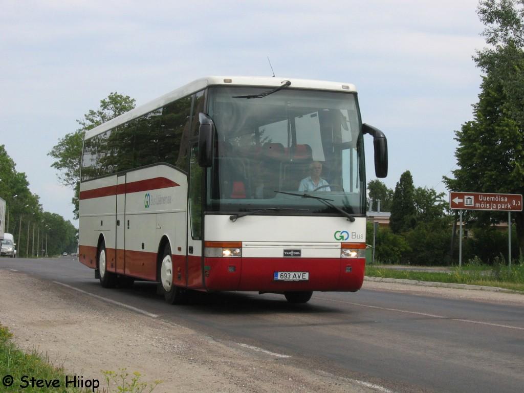 Haapsalu, Van Hool T915 Acron № 693 AVE