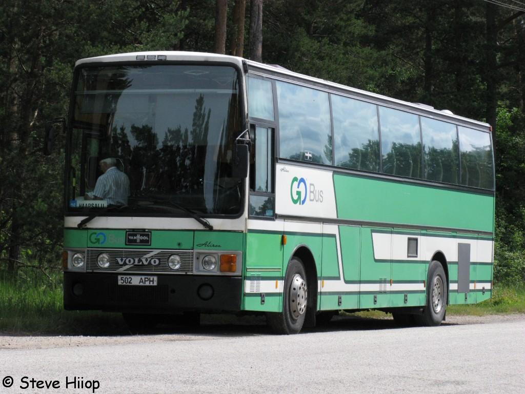 Haapsalu, Van Hool T8 Alizée 370 № 502 APH