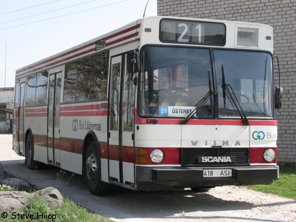 Haapsalu, Wiima K202 № 418 ASI