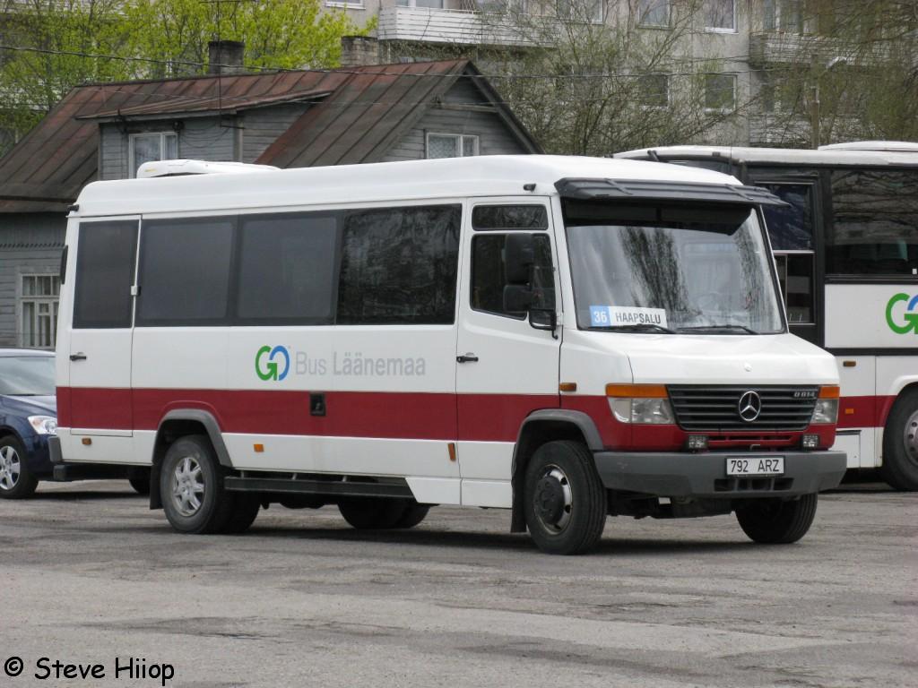 Haapsalu, Mercedes-Benz Vario 814D № 792 ARZ