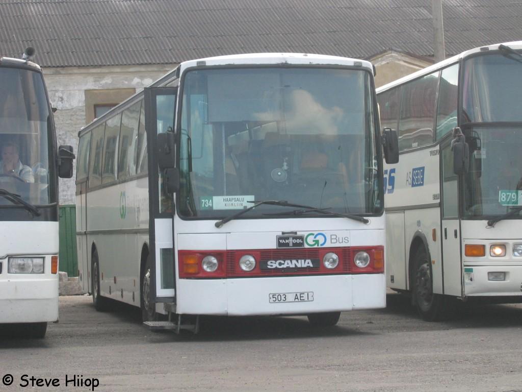 Haapsalu, Van Hool T8 Alizée 350 № 503 AEI