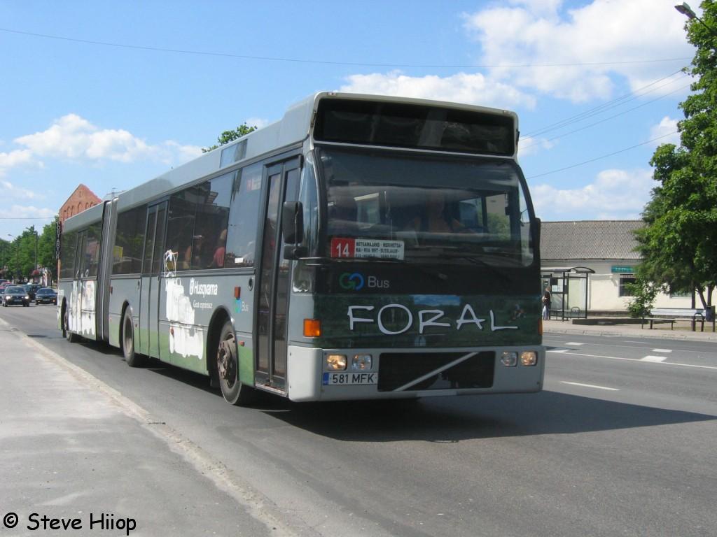 Pärnu, Berkhof Europa 2000A Duvedec № 581 MFK