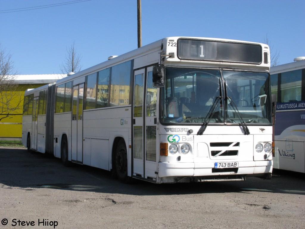 Pärnu, Säffle 2000 № 743 BAB