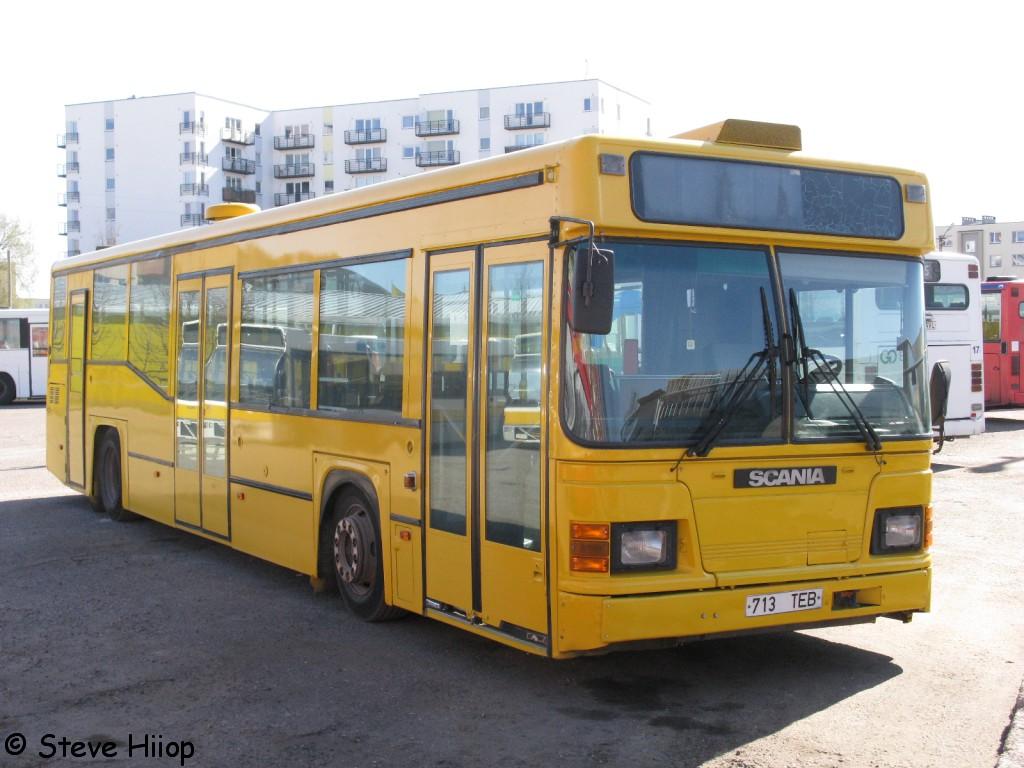 Pärnu, Scania CN113CLL MaxCi № 713 TEB