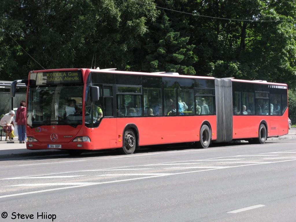 Pärnu, Mercedes-Benz O530 Citaro G № 384 BBP