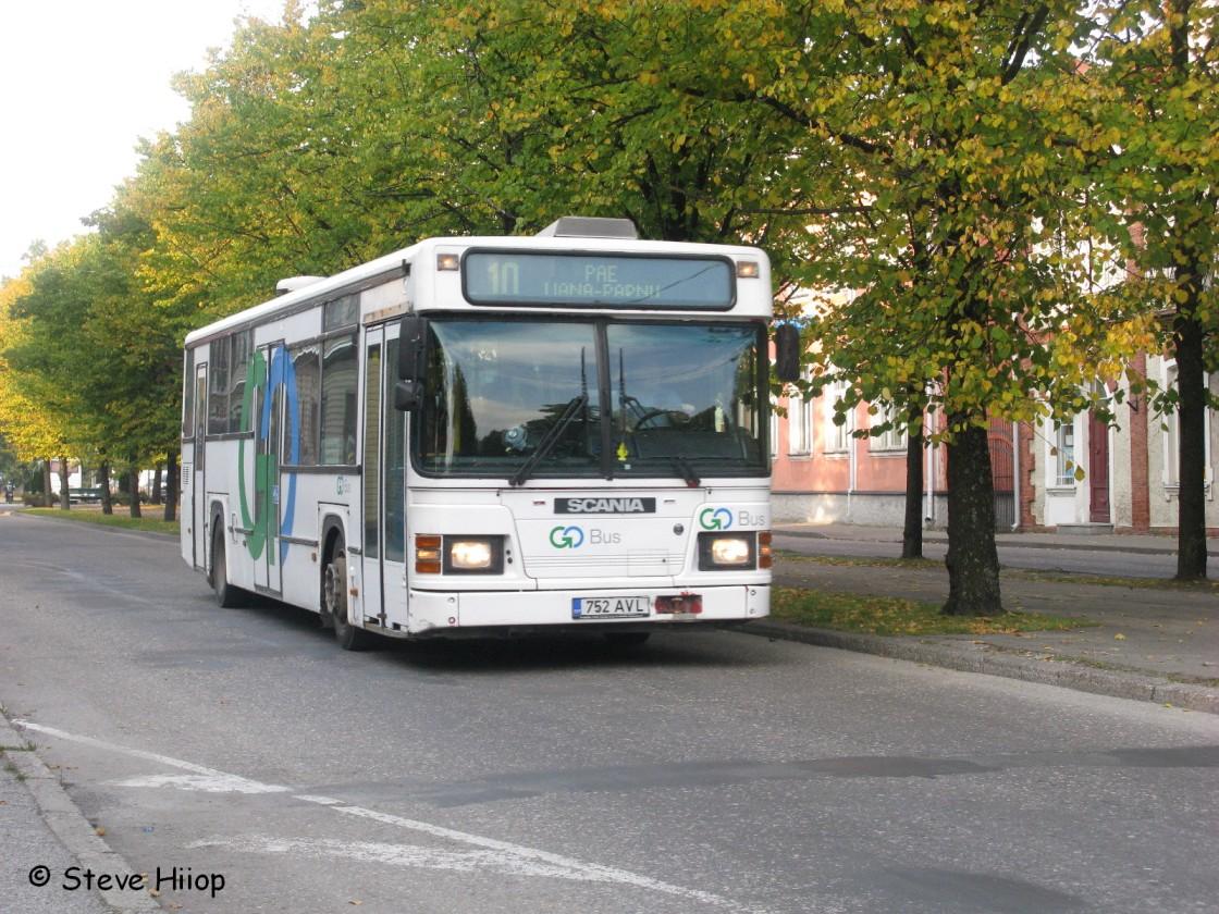 Pärnu, Scania CN113CLL MaxCi № 752 AVL