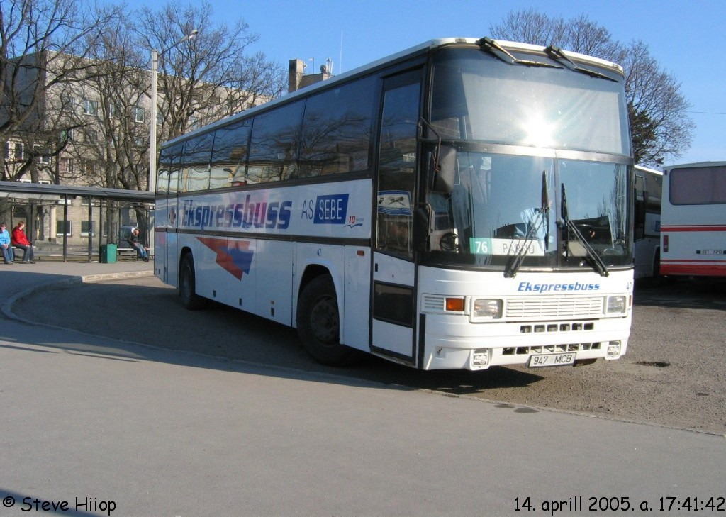 Tallinn, Jonckheere Jubilee P599 № 47