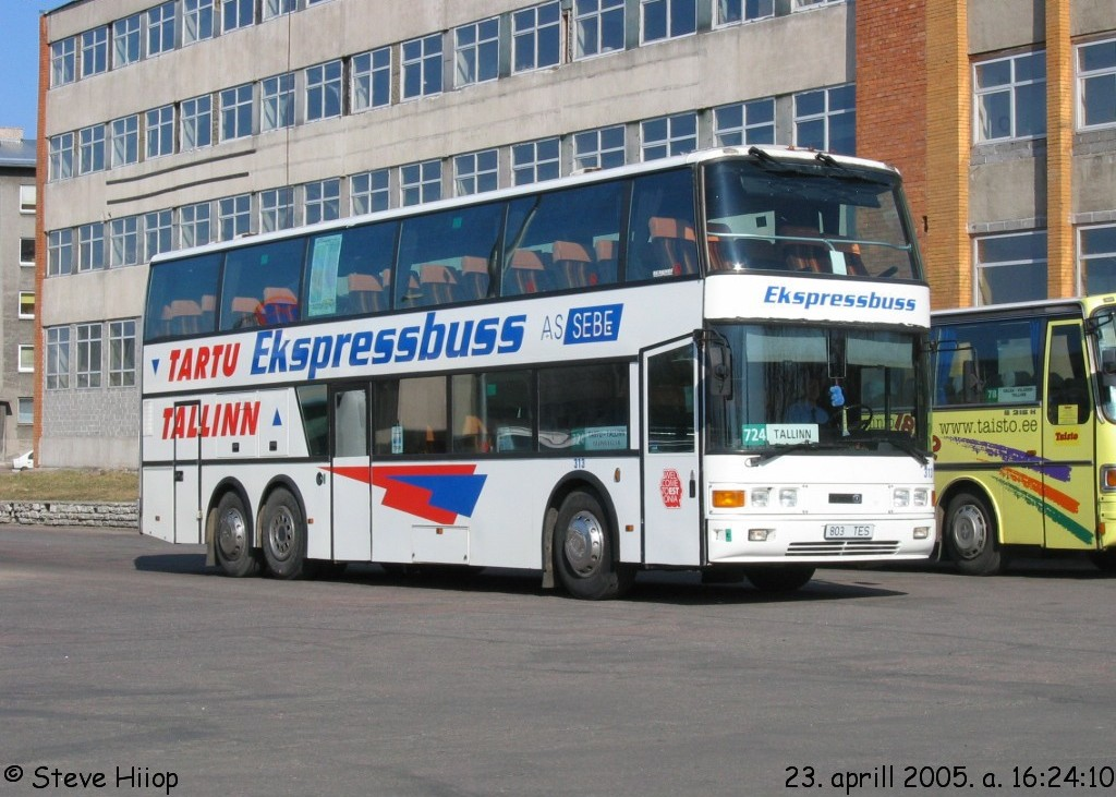 Tartu, Berkhof Excellence 2000HD № 313