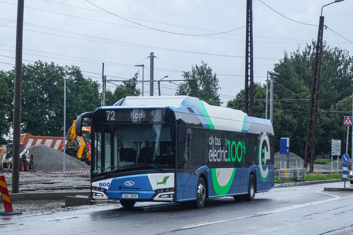 Tallinn, Solaris Urbino IV 12 Electric № 2102
