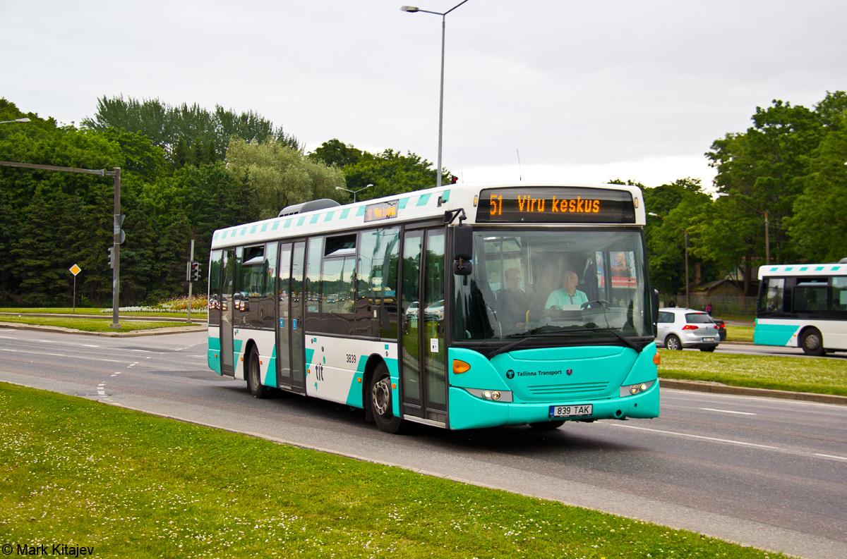 Tallinn, Scania OmniLink CK270UB 4X2LB № 3839