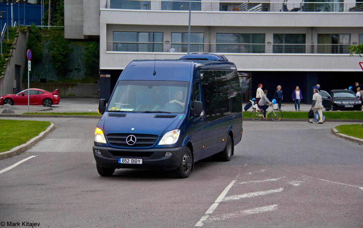 Kohtla-Järve, Mercedes-Benz Sprinter 518CDI № 652 BBY Tallinn — XII noorte laulu- ja tantsupidu (Mina jään)