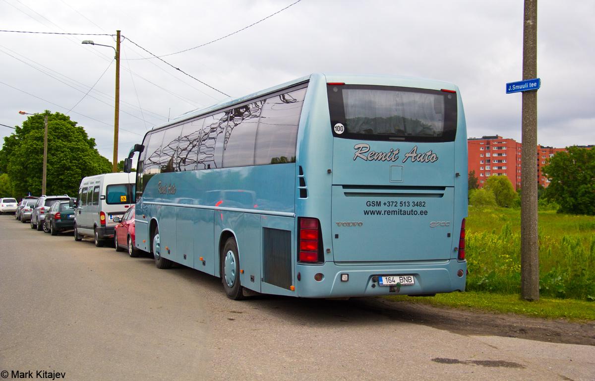 Pärnu, Volvo 9700H № 164 BNB Tallinn — XII noorte laulu- ja tantsupidu
