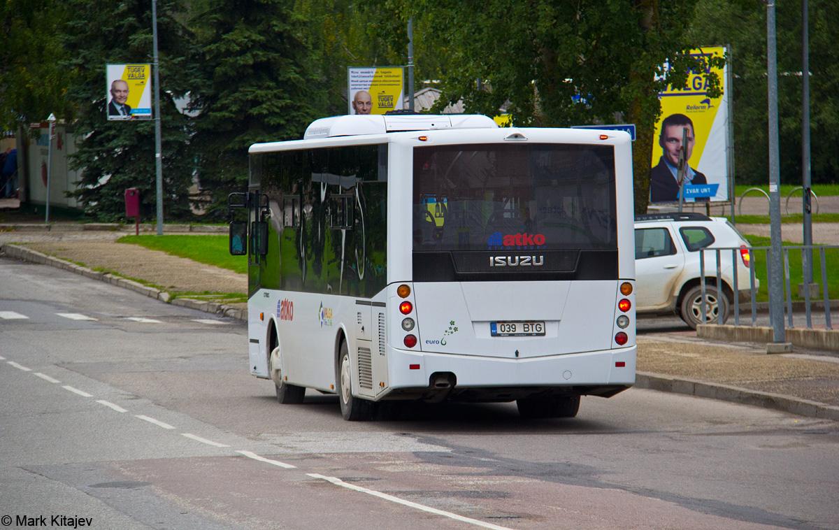 Valga, Isuzu Citibus № 039 BTG