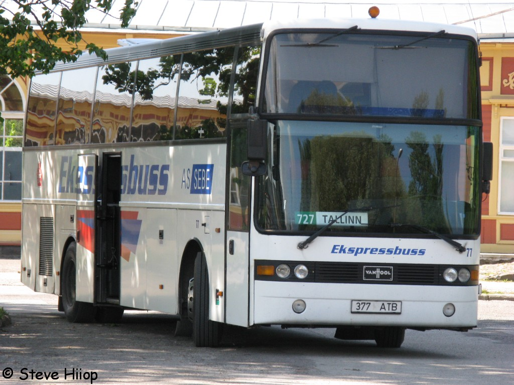 Tallinn, Van Hool T815 Acron № 77