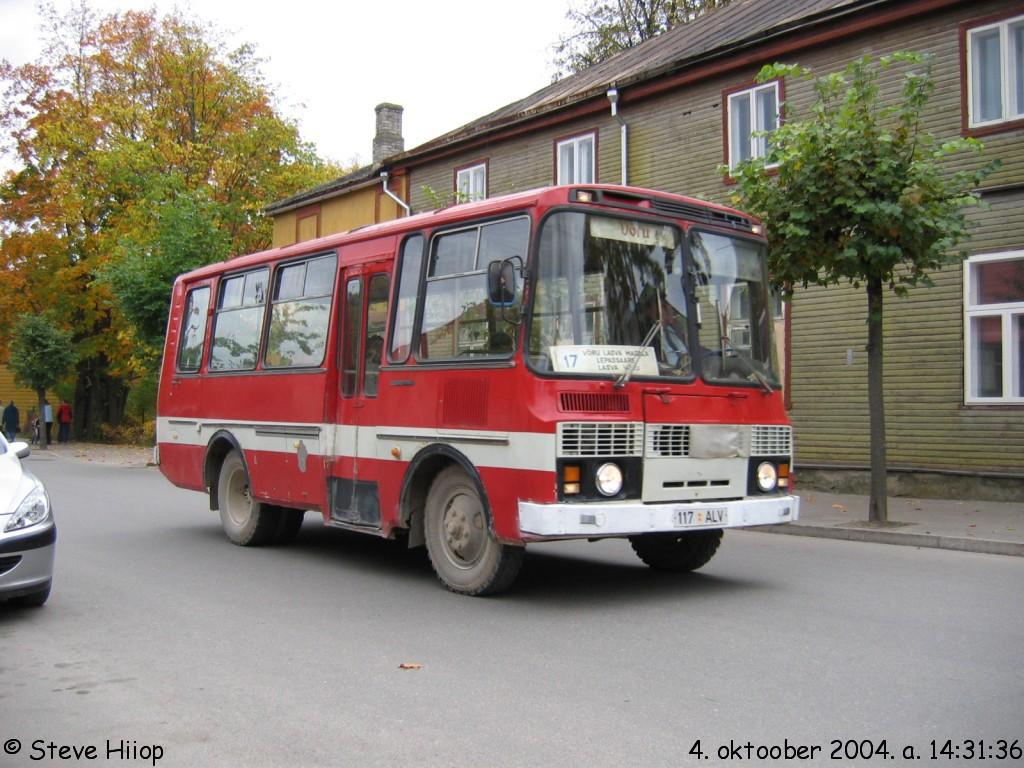 Võru, ПАЗ-3205 № 730
