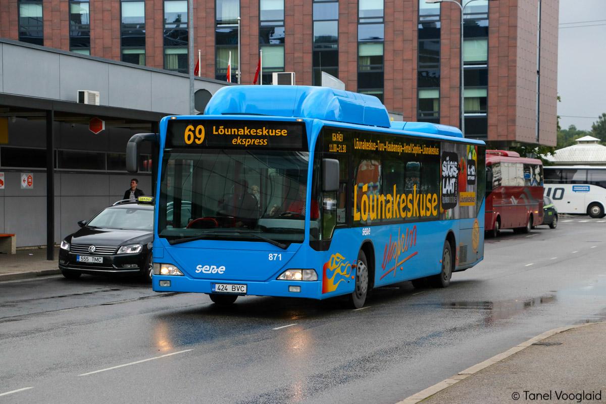 Tartu, Mercedes-Benz O530 Citaro CNG № 871