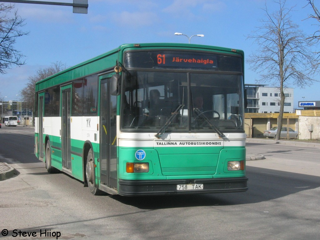 Tallinn, Duple Metsec T-56 City № 2758