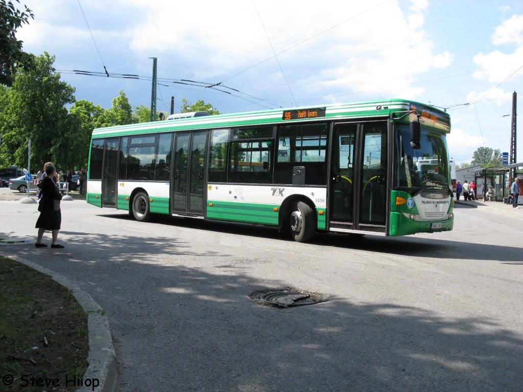 Tallinn, Scania OmniLink CK270UB 4X2LB № 1458