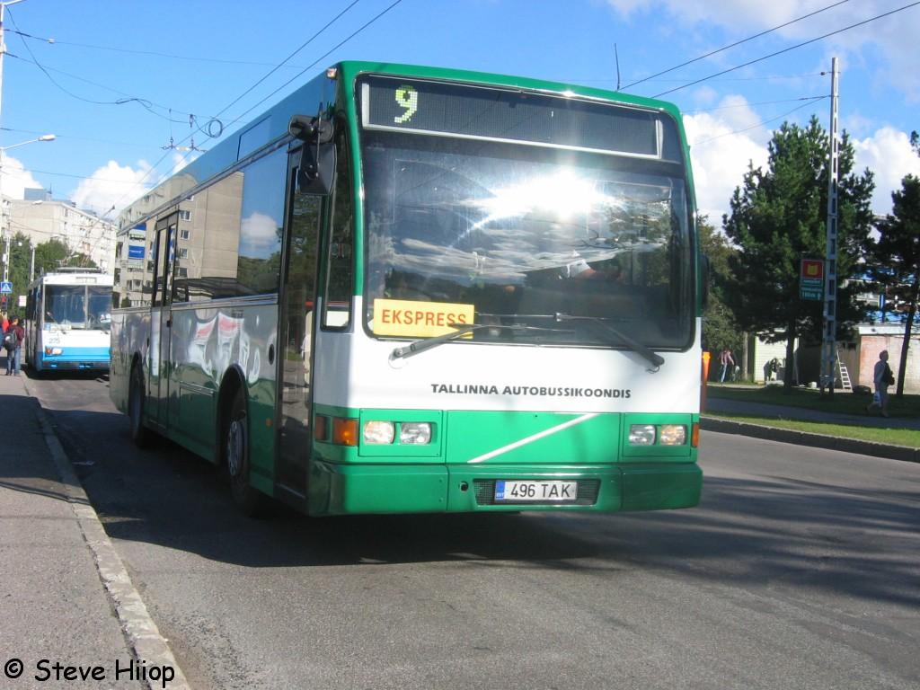 Tallinn, Berkhof Europa 2000NL № 1496
