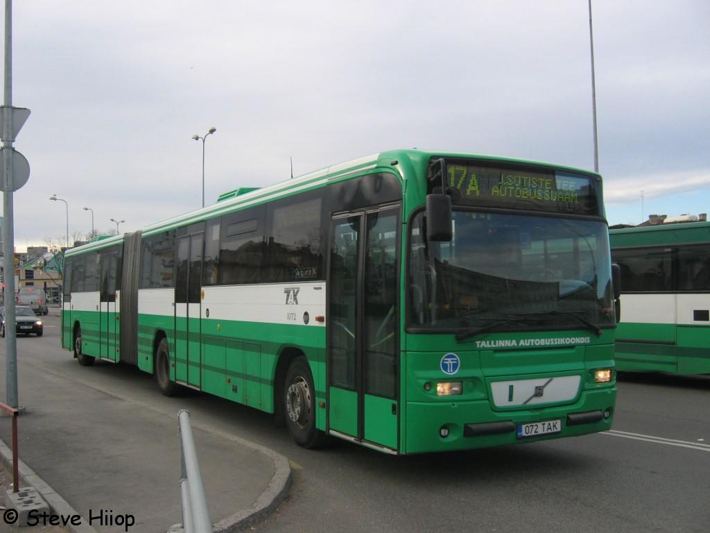Tallinn, Volvo 8500 № 1072
