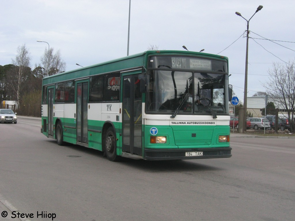 Tallinn, Duple Metsec T-56 City № 1184
