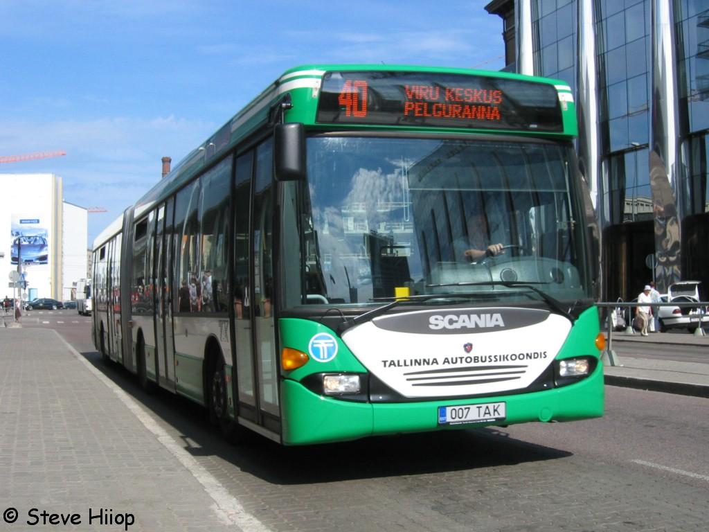 Tallinn, Scania OmniLink CL94UA 6X2LB № 1007