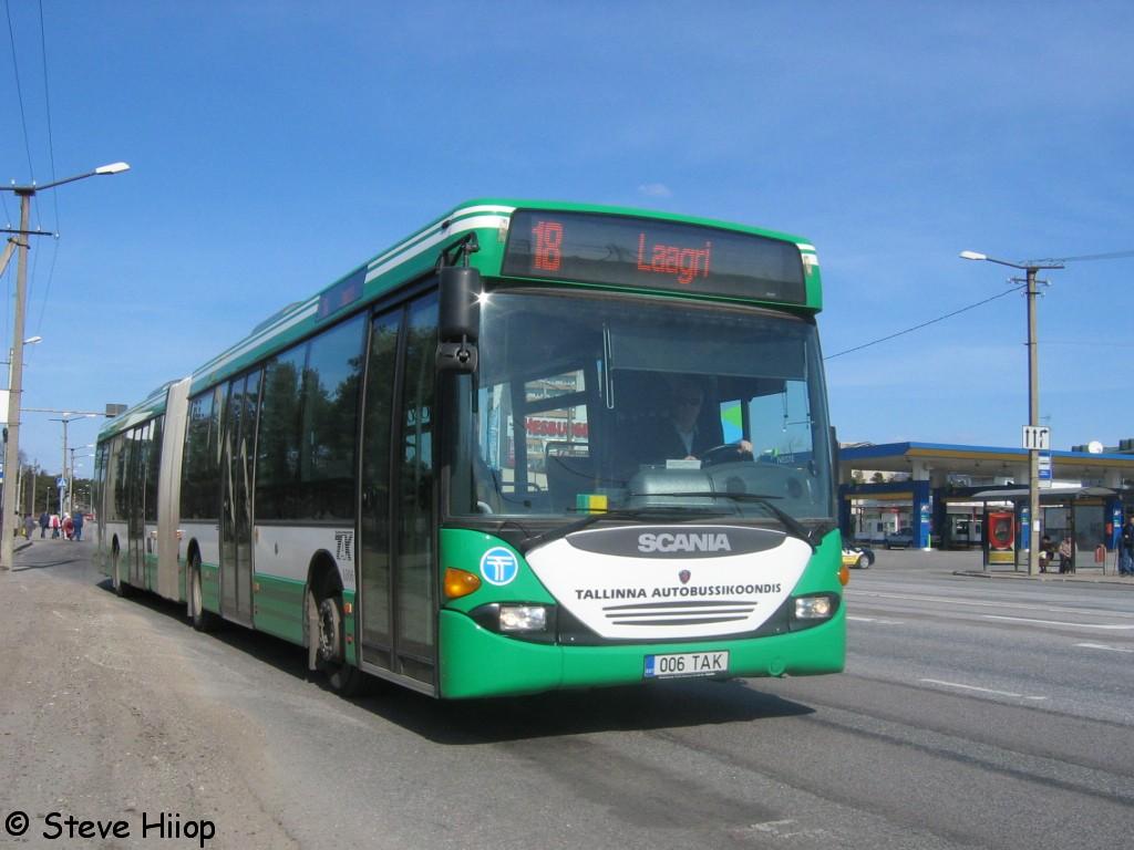 Tallinn, Scania OmniLink CL94UA 6X2LB № 1006
