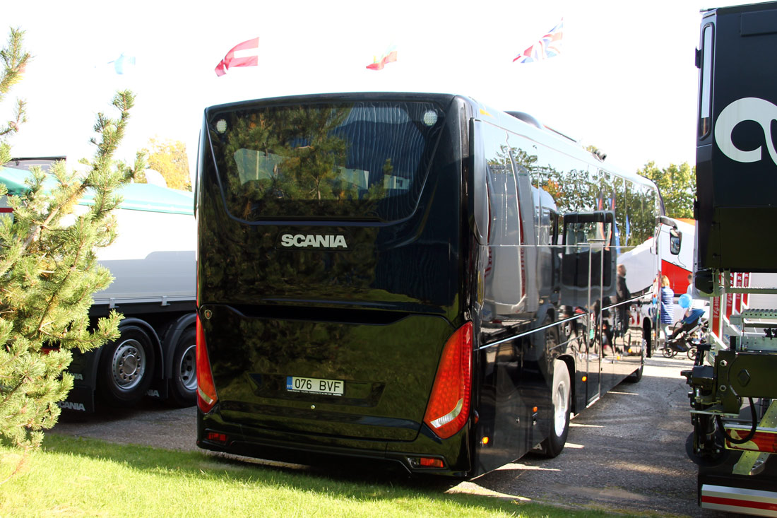 Paide, Scania Interlink HD № 076 BVF Tartu — Motoshow 2017