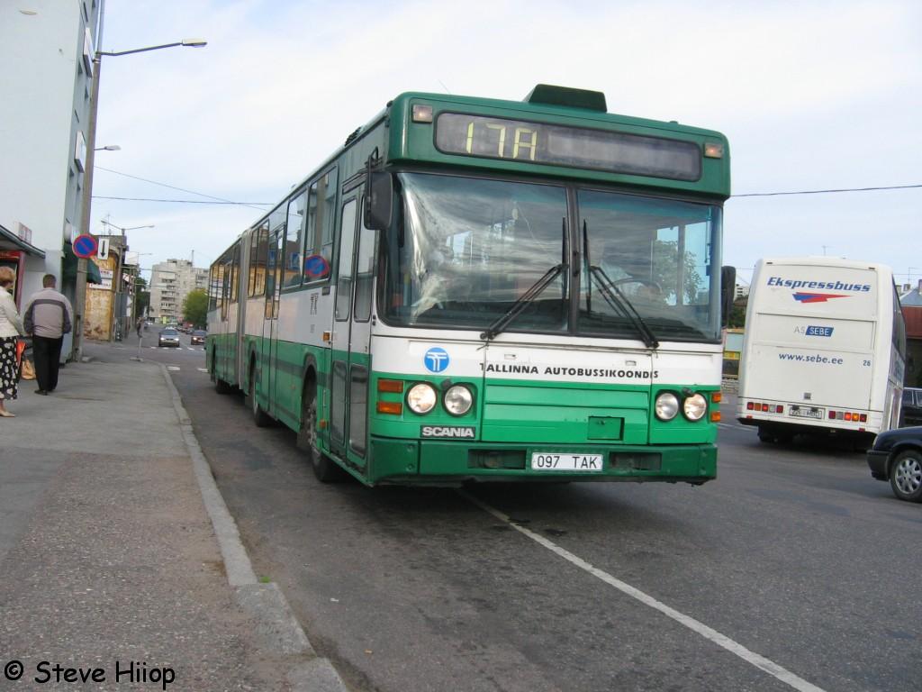 Tallinn, Scania CN113ALB № 1097