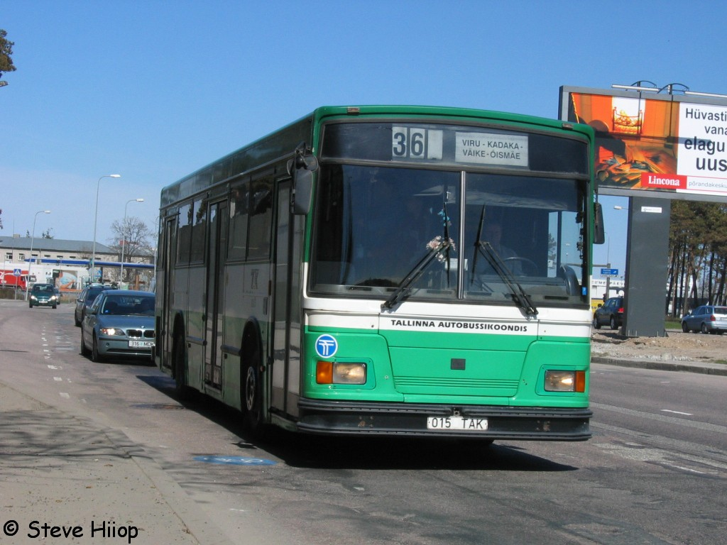 Tallinn, Duple Metsec T-41 City № 1015